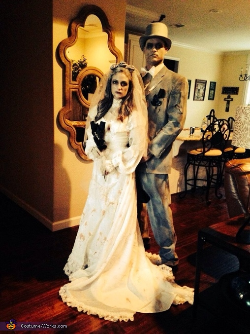 Ghost Bride and Groom Costume