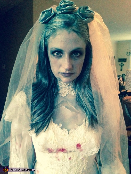 Ghost Bride and Groom Homemade Costume