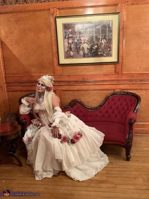 Ghost of Antebellum Homemade Costume