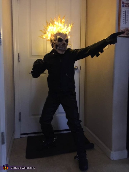 DIY Ghost Rider Costume