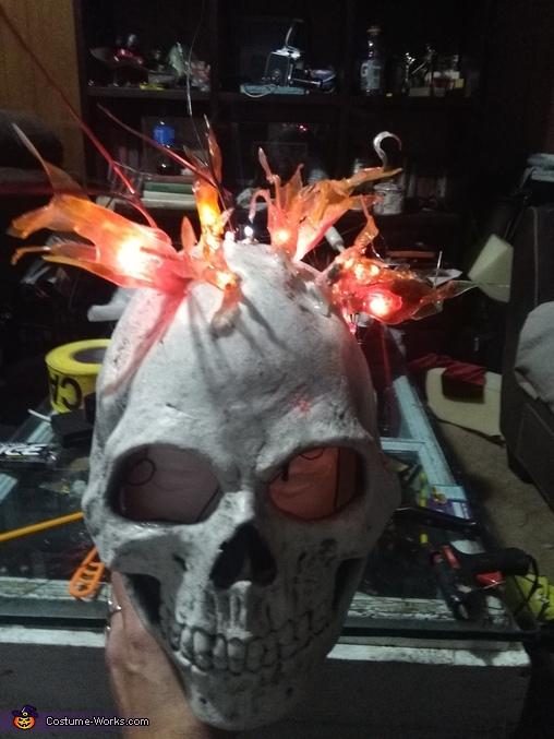 Ghost Rider Homemade Costume