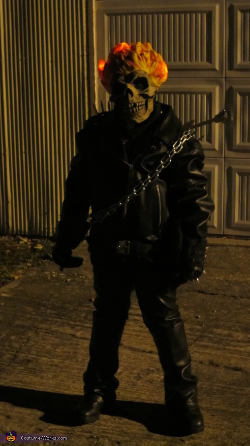 Ghost Rider in the night...., Ghost Rider Costume
