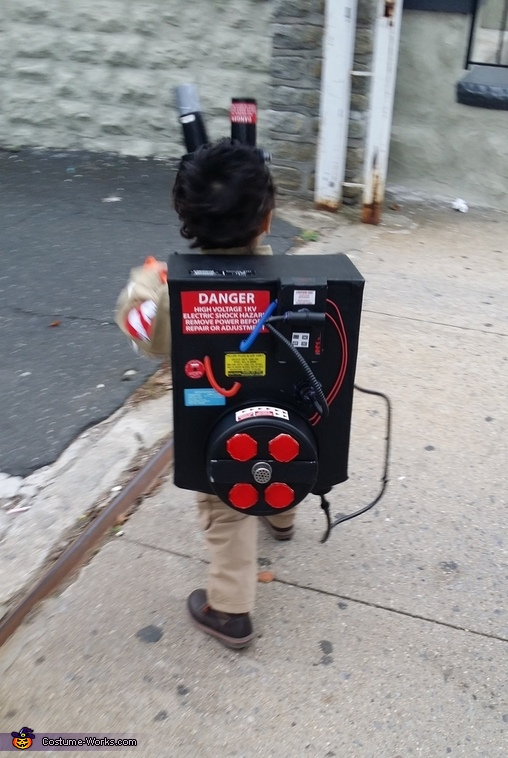 Trick or Treating, Ghostbuster Costume