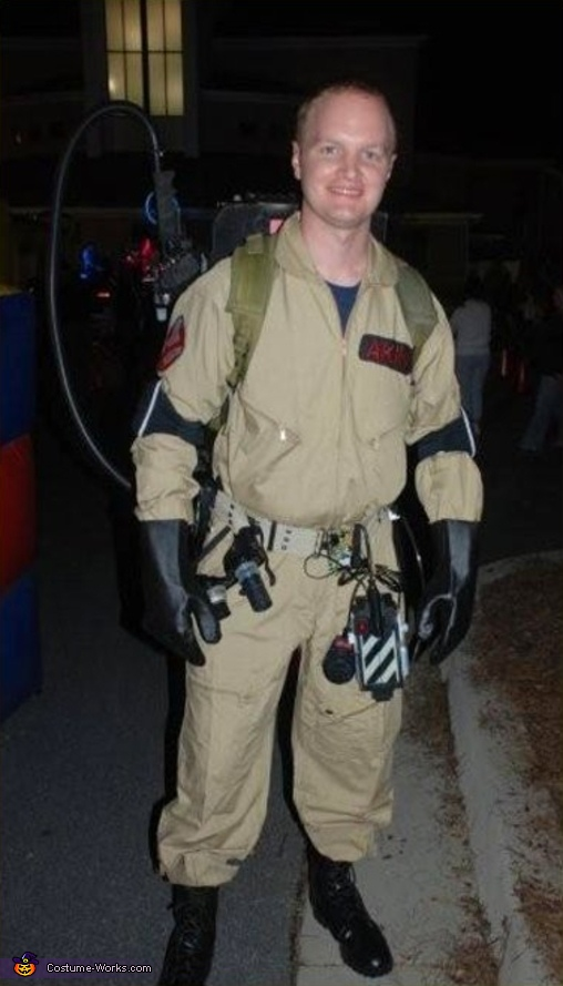 Ghostbusters! - Homemade costumes for men