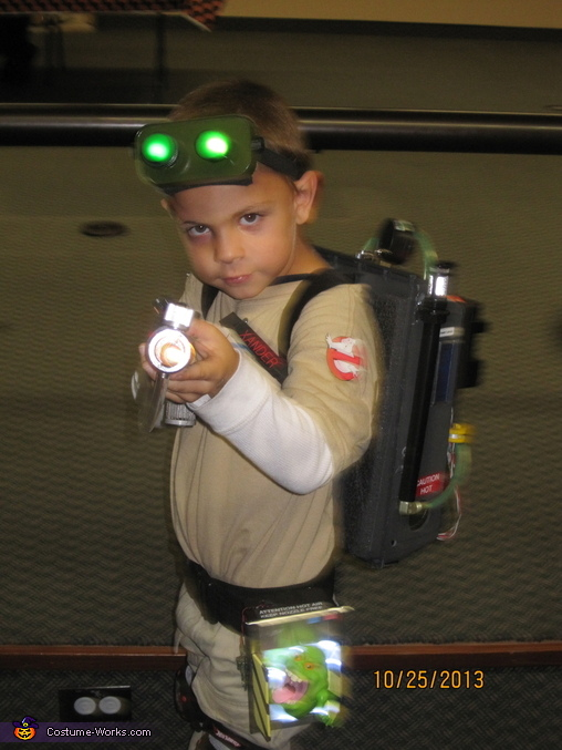 Ghostbuster Homemade Costume