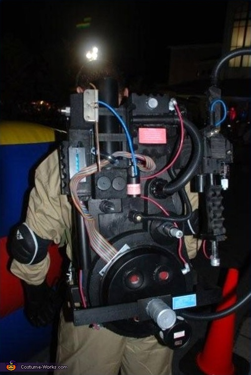 Proton Pack, Ghostbusters! Costume