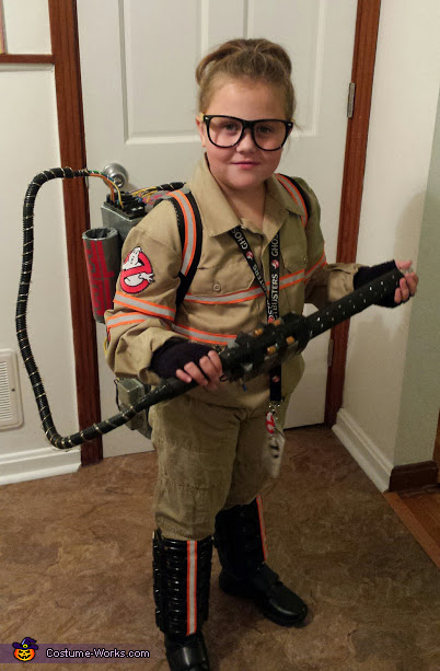 Ghostbusters Girl's Costume
