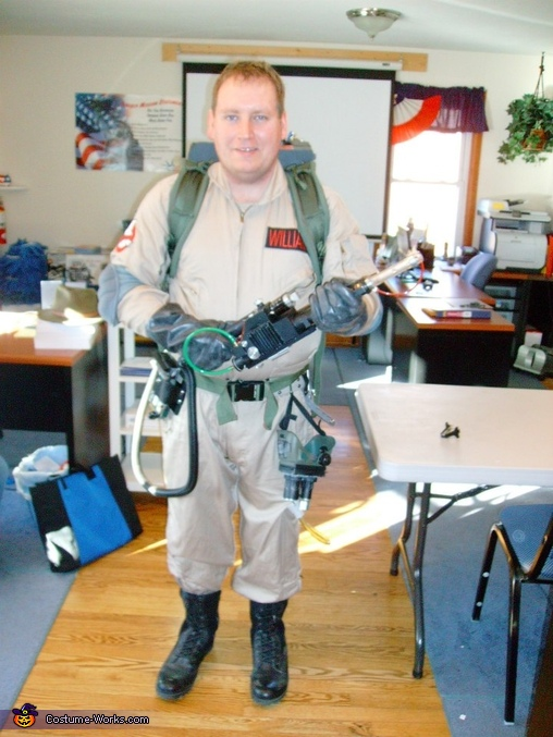 DIY Ghostbuster Costume