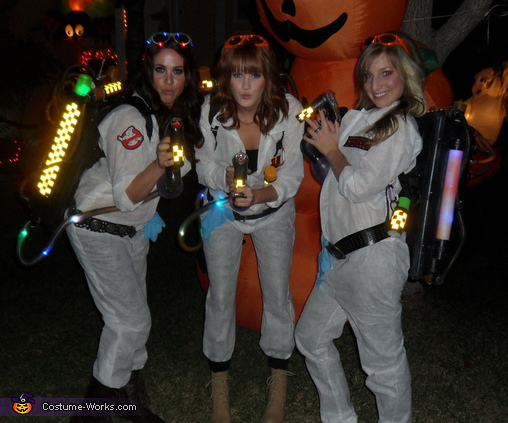 Ghostbusters - Homemade costumes for groups