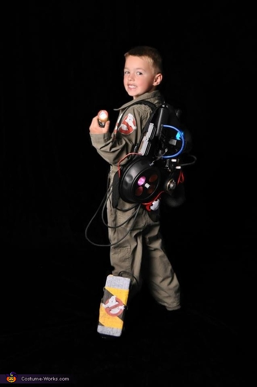 Don't mess with a Jr. Ghostbuster, Ghostbusters Costume