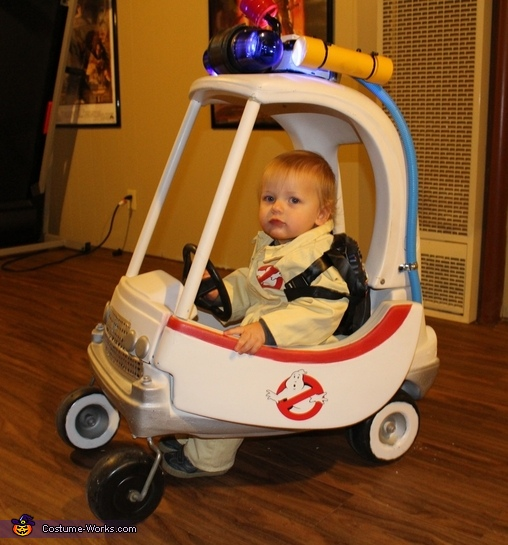 Ghostbusters on the Move Costume