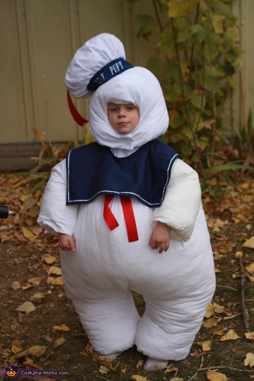 Stay Puft, Stay Puft Marshmallow Man and Ghostbuster Costume