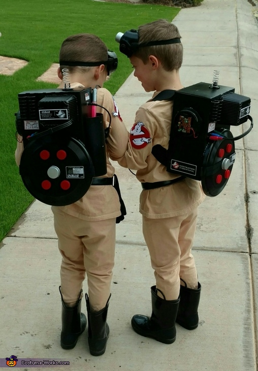 Ghostbusters Homemade Costume