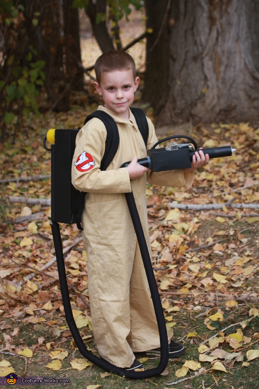 Ghostbuster, Stay Puft Marshmallow Man and Ghostbuster Costume