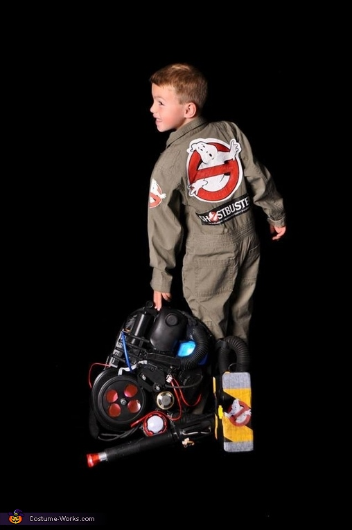 Time to go trap, Ghostbusters Costume