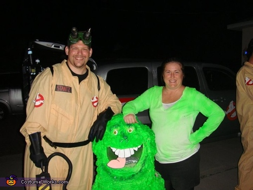 A bunch of fun!!, Ghostbusters and Slimer Group Costume