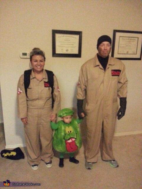 Ghostbusters and Slimer Costume