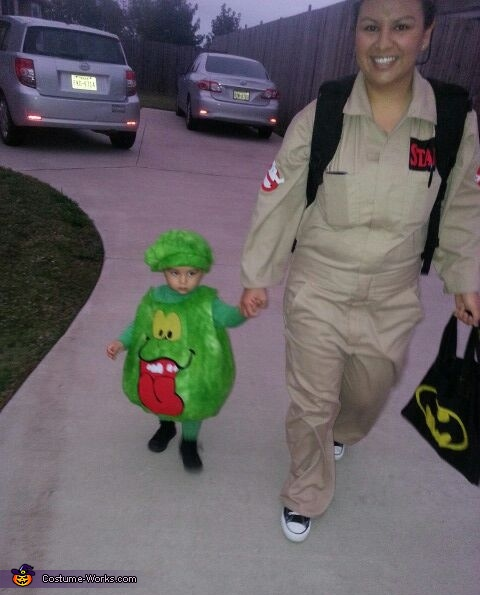 Slimer, Ghostbusters and Slimer Costume