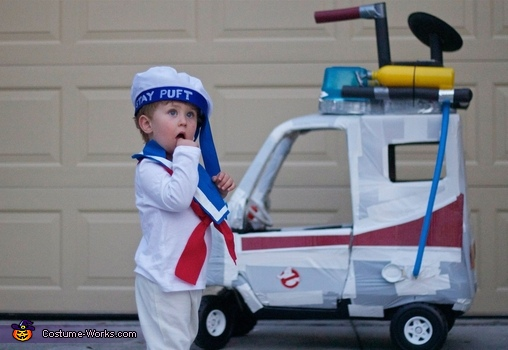 Well you don't see that every day..., Ghostbusters Family Costume