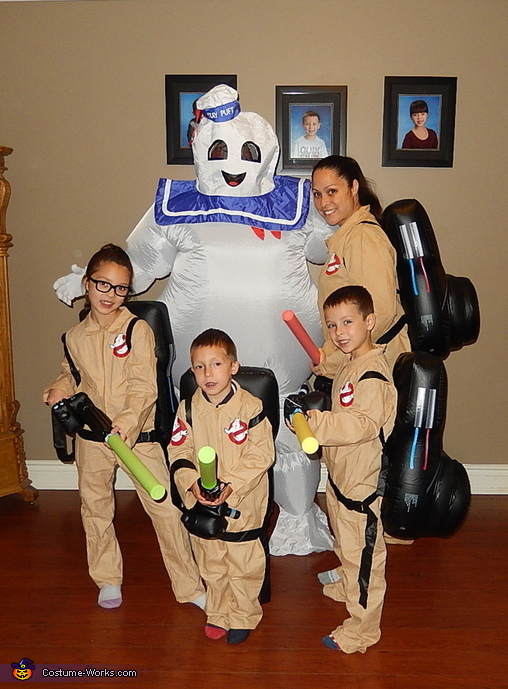 Ghostbusters Family Costume