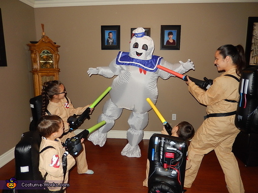 Ghostbusters Movie Family Costume