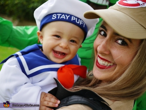 I ain't afraid of no ghost!, Ghostbusters Family Costume