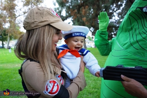 Got you!, Ghostbusters Family Costume