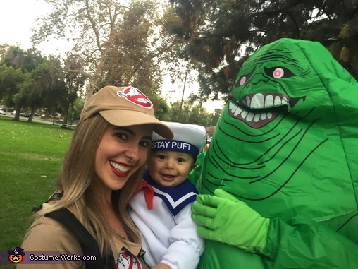 Slimer Family, Ghostbusters Family Costume
