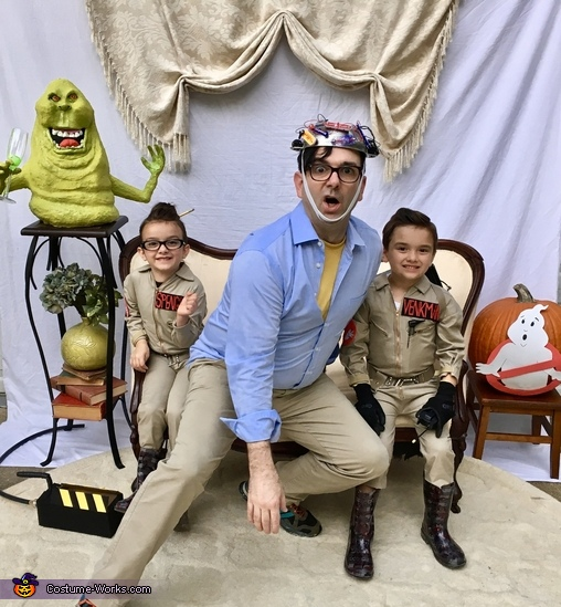 The Keymaster, Ghostbusters Family Costume