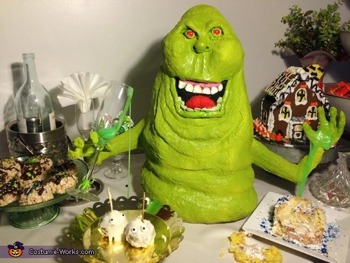 Slimer, Ghostbusters Family Costume