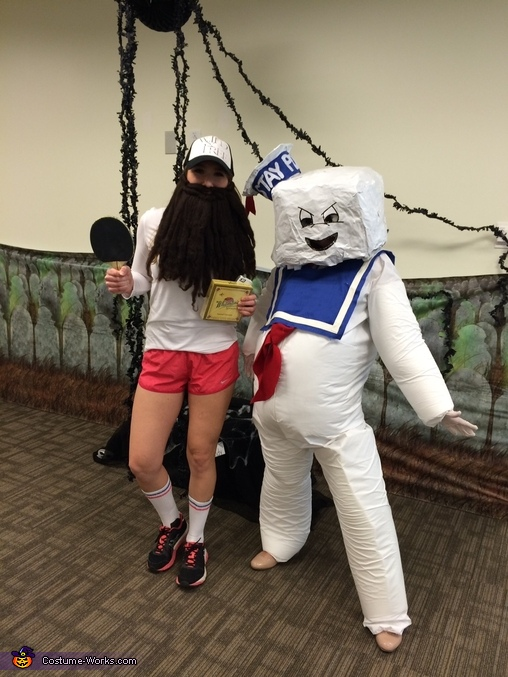 Hello From The Office, Ghostbusters Stay Puft Marshmallow Man Costume