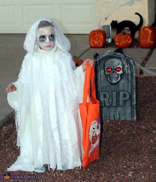 Ghostly Boy Costume