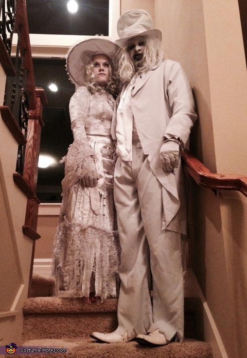 Ghostly Couple Costume