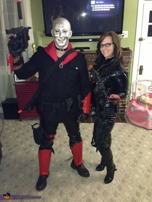 GI Joe - Destro and The Baroness Homemade Costume