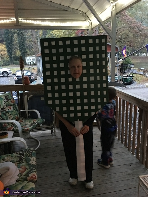 Giant Fly Swat Costume