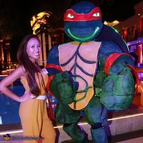 Giant Ninja Turtle Raphael Costume