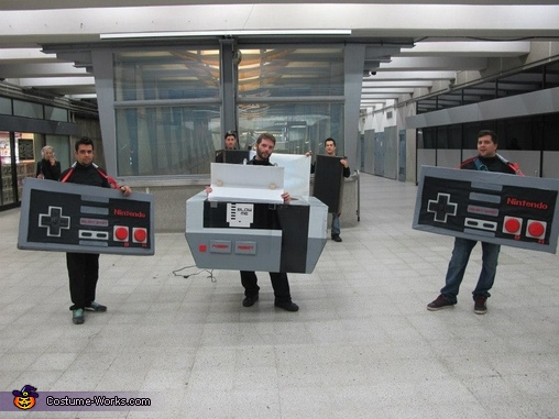Giant Nintendo Costume