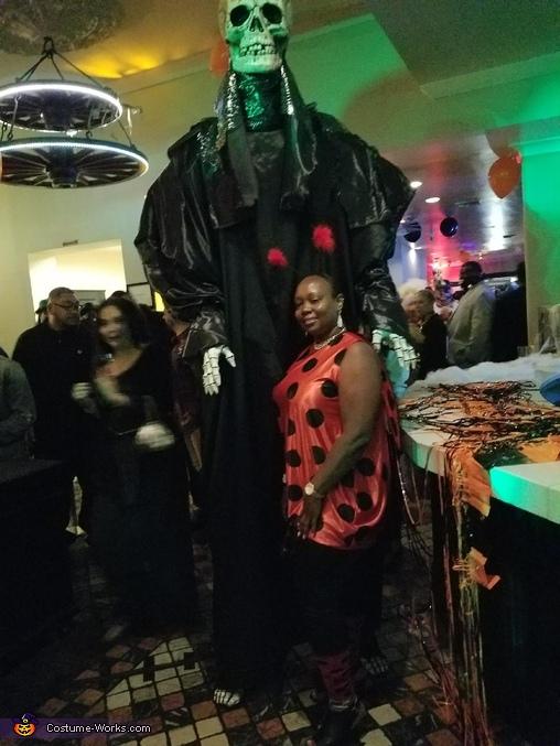 Giant Skeletor Homemade Costume