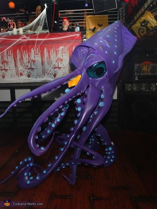 Coolest Giant Squid Costume