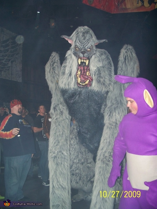 looking for prey, Giant Werewolf Costume