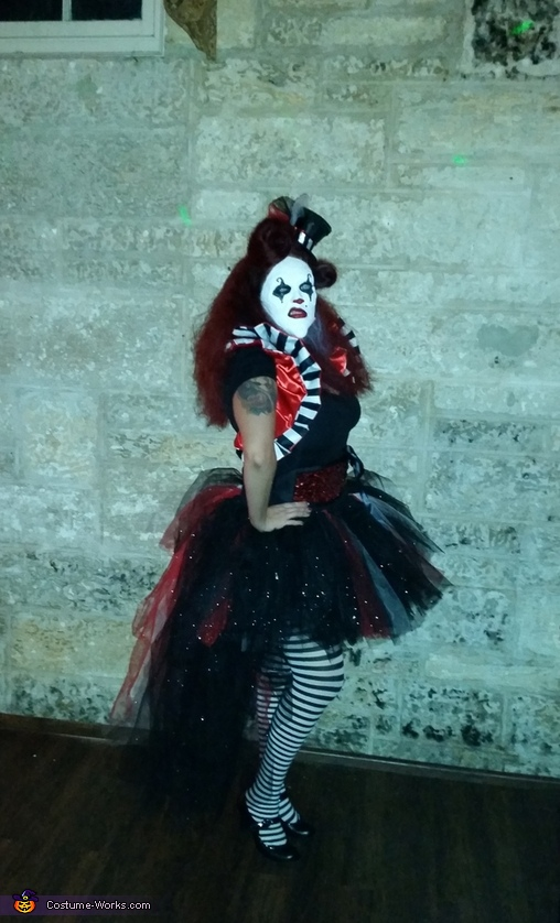 Giggles and Chuckles the Evil Clowns Homemade Costume