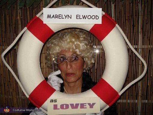 Me as 'Mrs Howell aka Lovey', Gilligan's Island Couple Costume