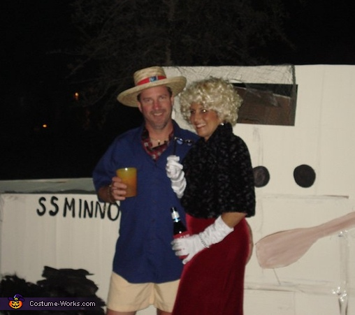 Gilligan's Island Couple Costume