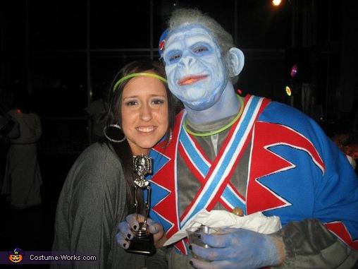 Funky Monkey, Wizard of Oz Nikko Winged Monkey Costume