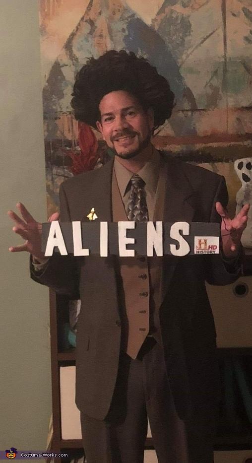 Giorgio Tsoukalos from Ancient Aliens Costume