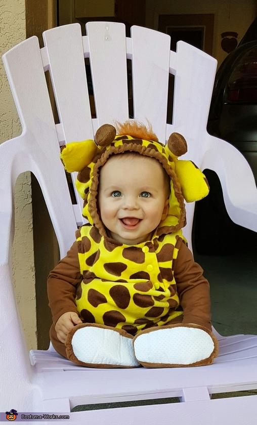 Giraffe Baby Costume