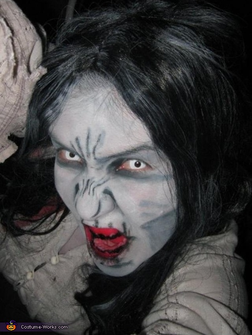 Girl from the RING Costume