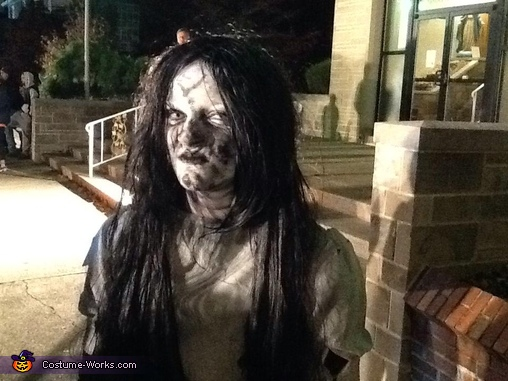in the night, Girl from The Ring Costume