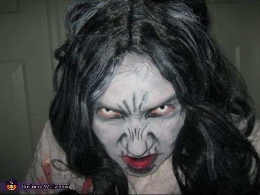 Girl from the RING Homemade Costume