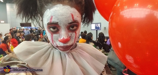 Girl Pennywise Homemade Costume